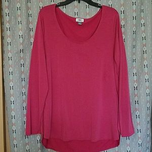 NWOT pink Old Navy long sleeve shirt